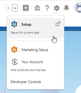Salesforce homepage