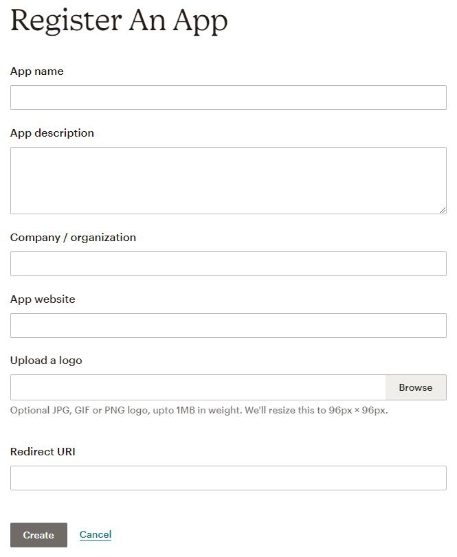 Entering app details