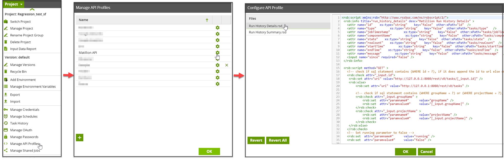 Project-ManageAPI-Configure API