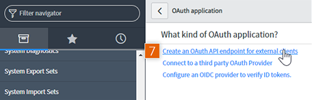 Create OAuth API endpoint