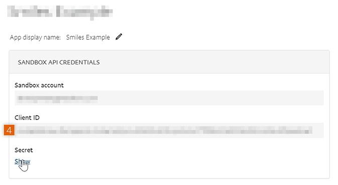 Copy Client ID and Secret