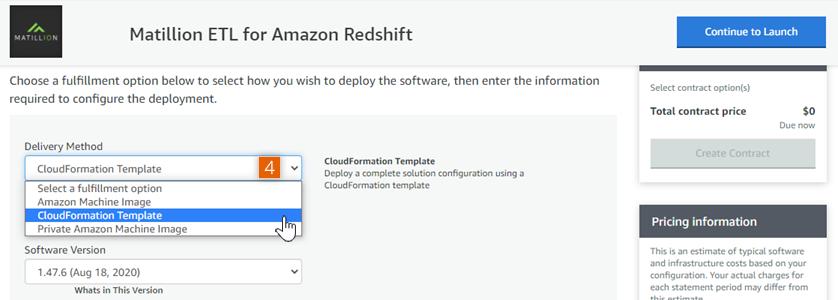 Select CloudFormation