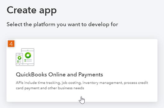 Select platform for new app