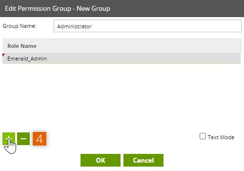 Edit Permission Group