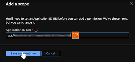 Application ID URI