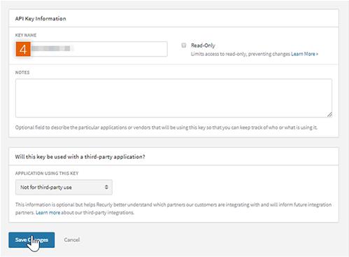 Add Private API Key