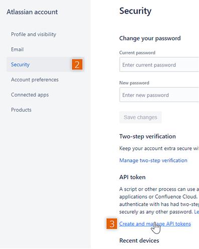 Atlassian account security