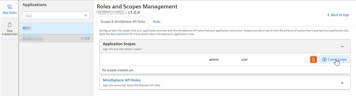 App Roles