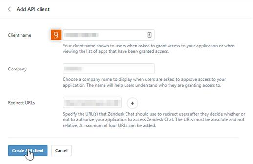 Add API client