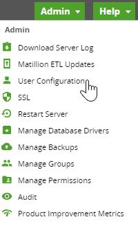 Admin_User Configuration