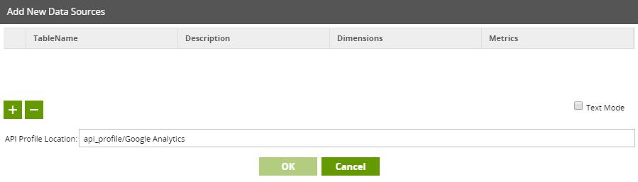 Add API profile