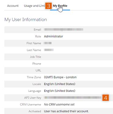 My User Information
